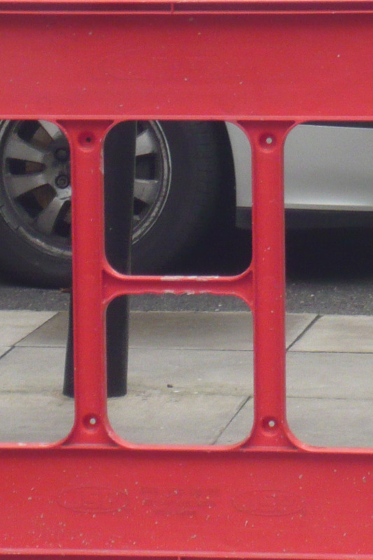 the object i used for the letter h was behind a gate so i couldnt take the picture without zooming in so the quality isnt